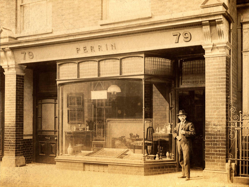 Alfred Perrin's Shop